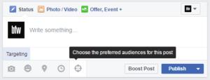 Facebook Organic Targeting Help
