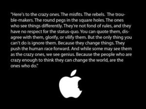Apple Brand Manifesto