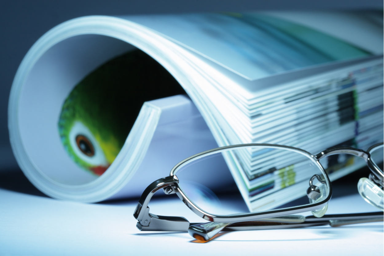 Glasses & Medical Journal